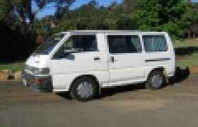 Swag Campers reviews. Swag Campers 2 person Mitsubishi
