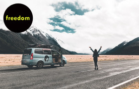 Wicked Campers New Zealand reviews.