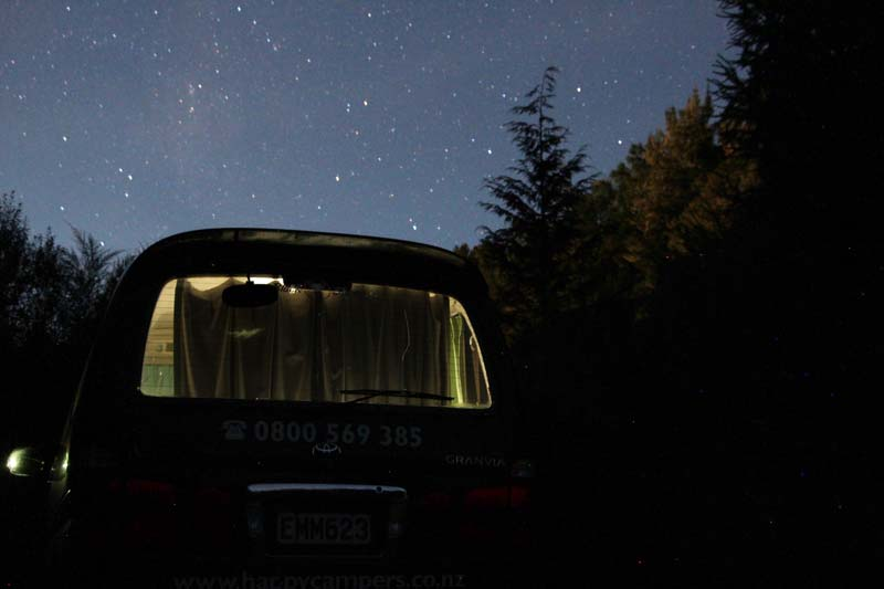 Freedom Camping NZ  - campervan parks free overnight